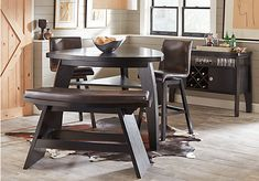 Noah Chocolate 4 Pc Counter Height Dining Room. $899.99.  Find affordable Dining Room Sets for your home that will complement the rest of your furniture.