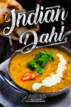 The Best Indian Dahl Recipe. This delicious vegan lentil curry is loaded with sp. - The Best Indian Dahl Recipe. This delicious vegan lentil curry is loaded with spices.