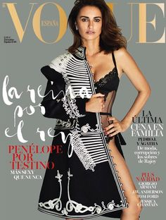 Penelope Cruz is the Cover Star of Vogue Spain December 2016 Issue