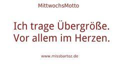 übergrößen im Herzen www.missbartoz.de