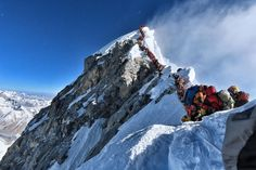 American had already climbed the peak and was safely back at a camp.Eleven climbers have died this season including several deaths blamed on overcrowding on the world's highest mountain.Nepal issued a record 381 Everest permits this. Mount Everest Deaths, Top Of Mount Everest, Monte Everest, Nepal, Monte Kilimanjaro, Climbing Everest, Human Traffic, Altitude Sickness, Tourism Department
