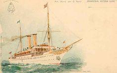 Le Prinzessin Victoria Luise était le premier navire de croisière du monde.