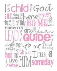 I'm a child of god!