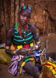 In Ethiopia, one can never accessorize enough. This original photograph by Mark MacLaren Johnson is available as a fine art print on his Etsty shop! African Life, African Culture, African Women, Black Women Art, Beautiful Black Women, Beautiful People, Tribal People, Tribal Women, Tribal Fashion