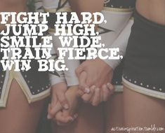 cheerleading♥ what I would do to have another year...