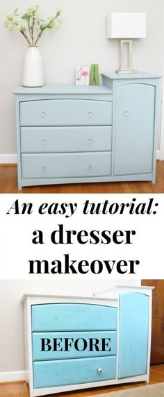A Furniture Makeover From The Side Of Road Diy Easydiy