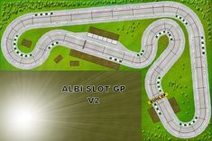 Slot racing et voitures de circuits routiers Scalextric Carrera Ninco SCX Circuit Scalextric, Scalextric Digital, Ho Slot Cars, Courses, Carrera, Track, Racing, Layout, Model