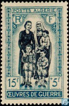 Algeria Stamp 1955 - War work