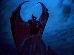 Chernabog from Disney's Fantasia. Animated by Bill Tytla.