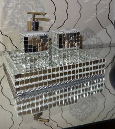 kit lavabo/banheiro (bandeja/saboneteira liquida etc...)
