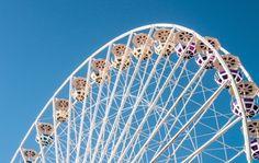 Free stock photo of amusement park, big wheel, ferris wheel