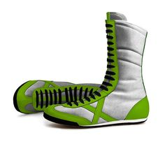Slytherin Quidditch Shoes 1  by MUNICH