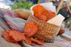 Raw Vegan Sweet Potato Chips // Radiantly Raw Blog by Summer Sanders