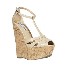Free Shipping - Steve Madden Capeesh Strappy Summer Wedges $69.98