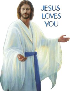Jesus loves you! He knew of you, and loved you, in eternity past when he shared glory with the Father before the world began. Mary And Jesus, Jesus Is Lord, Jesus Lives, Jesus Loves You, Lds Pictures, Pictures Of Jesus Christ, Padre Celestial, Jesus Painting, Jesus Face