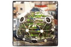 """It may look nothing more than an oddly shaped greenhouse, but the """"Globe (hedron)"""" is a..."""