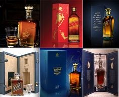 Limited edition Johnnie Walker bottles.  There is a prescribed art of drinking as it is a rule-governed activity in any culture. A true connoisseur knows the value and art of fine drinking and therefore knows the value of the world-known whiskey brand, Johnnie Walker. The ultra-premium presentation and the classic taste of the drink is a sheer pleasure for the drinkers to cherish for long.