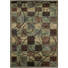 Found it at Wayfair - Expressions Brown Area Rug