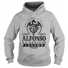 The Legend is Alive ALFONSO An Endless LEGEND v1.0 T-Shirts & Hoodies