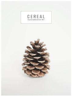 Cereal has an elegant book-like format filled with beautiful photography and tales of travel and life.