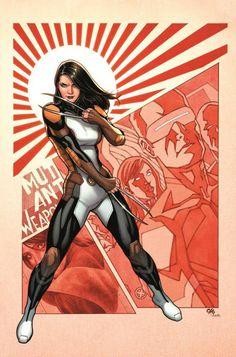 X-23 by Frank Cho