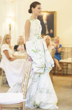 Giambattista Valli Charlotte - Duke Mansion Fashion Show - Town & Country