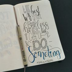 Quote by Barack Obama ☆ handlettering by @Barbrusheson