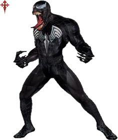 Venom from Spiderman 3 Black Spiderman, Venom Spiderman 3, Marvel Venom, Spiderman Art, Marvel Comics, Venom Costume, Spider Man Trilogy, Symbiotes Marvel, Venom Art