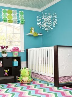 Andrika King Design with Nursery Works Aerial Crib