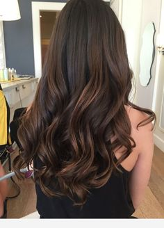 Haley Baravarian at Dry Bar Haley Baravarian at Dry Bar Brown Hair Balayage, Hair Highlights, Chocolate Highlights, Balayage Straight, Bayalage, Beautiful Brown Hair, Gorgeous Hair, Pinterest Hair, Brown Hair Colors