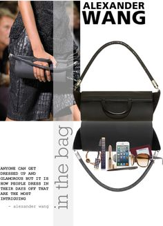 """in the bag"" by sharmarie ❤ liked on Polyvore"