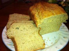 Toasted Oat Bread:  Gluten Free
