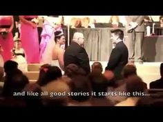 Amazing Father Tells Touching Story At His Daughter's Wedding