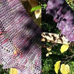 I crocheted this Pax shawlette several years ago using my hand dyed Pine Lake Fingering yarn. Pattern by the extremely talented Aoibhe Ni (@aoibheni) on Ravelry.com. She takes Tunisian crochet to a whole new level.   #bayviewfiberarts #aoibheni #tunisiancrochet #crochet #pinelakefingering #purpleyarn