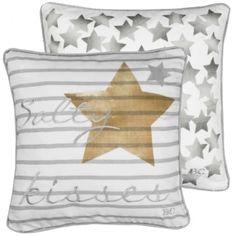 Cushion 50x50 Salty&Stars Grey/Ocher