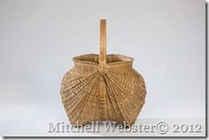 Ribbed Baskets! A series of 6 Ribbed baskets recently completed by me for a show next spring.