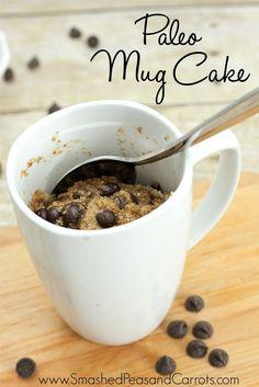 Paleo Mug Cake Recipe (Gluten and Dairy Free)