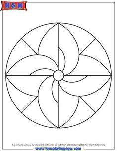 mandalas for kids | Easy Mandala Coloring Page For Children