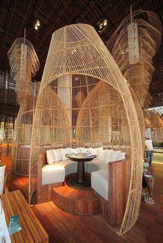 W Retreat & Spa Restaurant Interior Design in Bali: