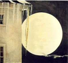Andrew Wyeth ~ Moon Madness, 1982