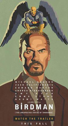 """""""Birdman"""" (2014) di Alejandro G. Iñárritu, con Michael Keaton, inaugurerà la 71ma Mostra Internazionale del Cinema di Venezia e concorrerà per il Leone d'Oro http://www.nientepopcorn.it/notizie/venezia-2014-tutti-i-film-in-concorso/ Qui, l'intrigantissimo trailer: http://bit.ly/WGCivz"""