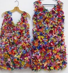 Recycled Dresses
