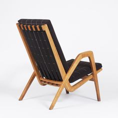 Anonymous; Czech Lounge Chair, 1960s.