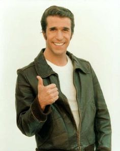 1970's - Happy Days Arthur Herbert Fonzarelli (also Fonzie, The Fonz or Fonz) is a fictional character played by Henry Winkler in the American sitcom Happy Days (1974–1984). He was originally a secondary character but eventually became the lead. By the mid 1970's, he dwarfed the other characters in popularity.  In 1999 TV Guide ranked him number 4 on its 50 Greatest TV Characters of All Time list.
