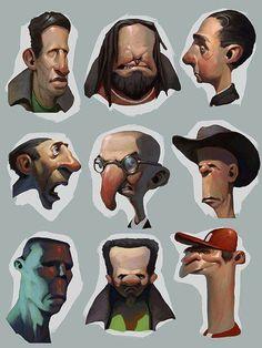 aprender a dibujar rostros de caricatura