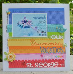 Doodlebug Design Paper Frills & Petite Prints by Wendy Sue Anderson