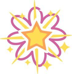 G3 Star Shimmer Cutie Mark by AnScathMarcach