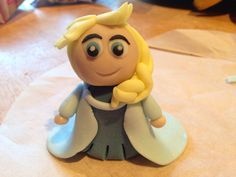 Elsa made from fondant