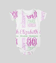 Must have! Personalized Baby Onesie - Style #25106BO