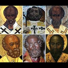 Santa Claus Or at least Saint Nicholas – 343 AD), the saint that the legend is based on. Old Saint Nick was born in what's now considered Turkey (at the time a metropolis for people of African descent). Santa Claus was black?